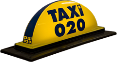 Pointguard's taxi roof sign - Model 020