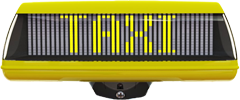 iToplight - A digital taxi roof sign from Pointguard