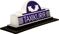 Pointguard's taxi roof sign - Model TK